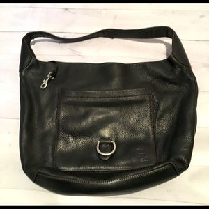 Dooney and Bourke Black Leather Purse Bag Tote